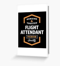 Flight Attendant   Gift Ideas Greeting Card