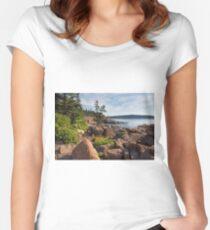 Coastal Beauty Women's Fitted Scoop T-Shirt