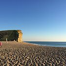 Cliffs at West Bay  by Suzanne Clements