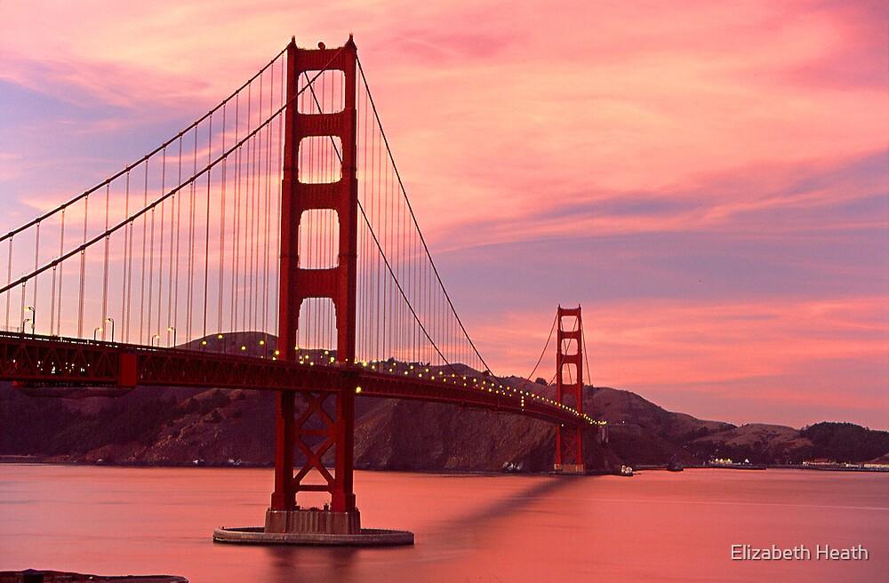 Golden Gate Bridge by Elizabeth Heath