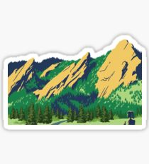Colorado Flat Irons Sticker