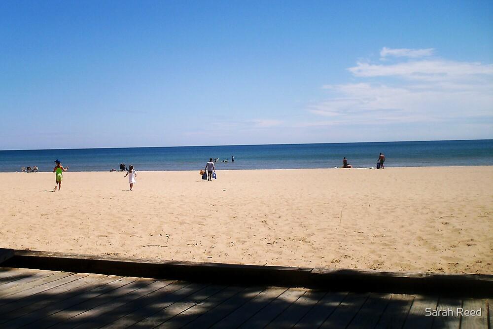 oscoda beach.  by Sarah Reed