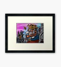 """""""Last Goblin King"""" Framed Print"""