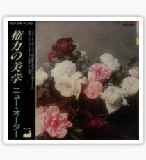 Power, Corruption & Lies Japanese release darkened tee Sticker