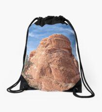 The Happy Rock Drawstring Bag