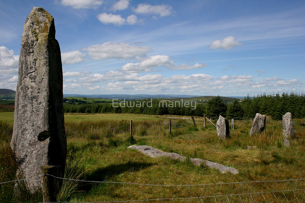 stone circles by Edward  manley