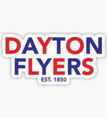 dayton flyers Sticker
