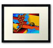 Nano World Framed Print