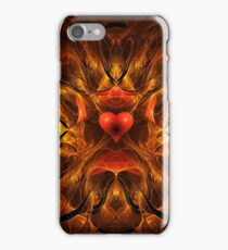 Flaming Passion iPhone Case/Skin