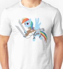 Rainbow Dash - Attack on Titan Unisex T-Shirt