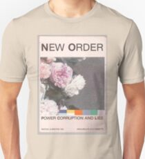 Power, Corruption & Lies whitewashed T-Shirt