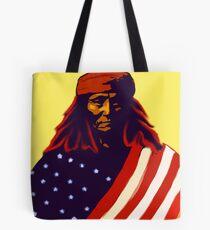 Apche War Chief Tote Bag