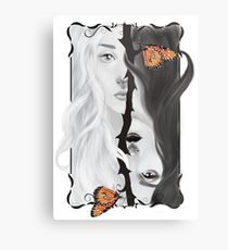 Catching the butterfly Metal Print
