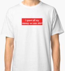 The Anti Hybeast X Supreme  Classic T-Shirt