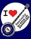 I Love Kentucky Bluegrass by Rich Anderson