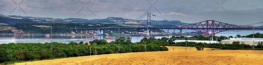 New Forth Crossing - 9 August 2012 by Tom Gomez