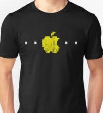 Apple PacMan Distressed Logo T-Shirt
