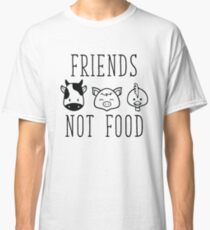 Friends Not Food Classic T-Shirt