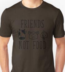 Friends Not Food Unisex T-Shirt