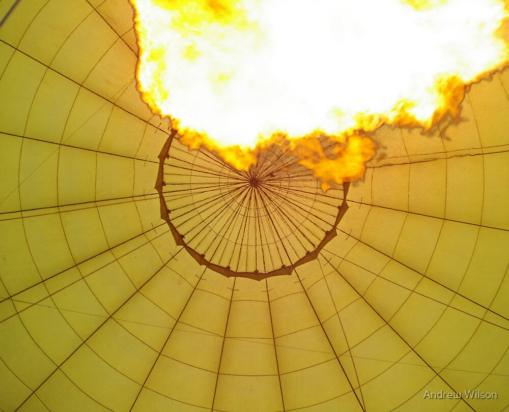 Fire in the Balloon by Andrew Wilson