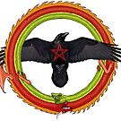 Raven Ouroboros by Moonwater