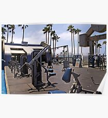 Exercise equipment Poster