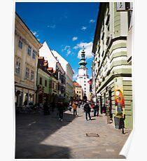Michalska Street Poster