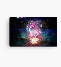 Magic Jar - Pink Canvas Print