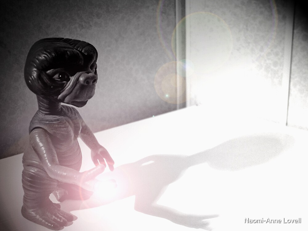 ET phone home by Naomi-Anne Lovell