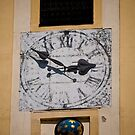 Bratislava Clock by Rae Tucker