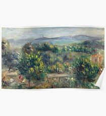Auguste Renoir - Landscape With Trees In Yellow, 1900 Poster