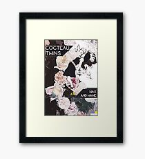 Cocteau Twins Flower art  Framed Print