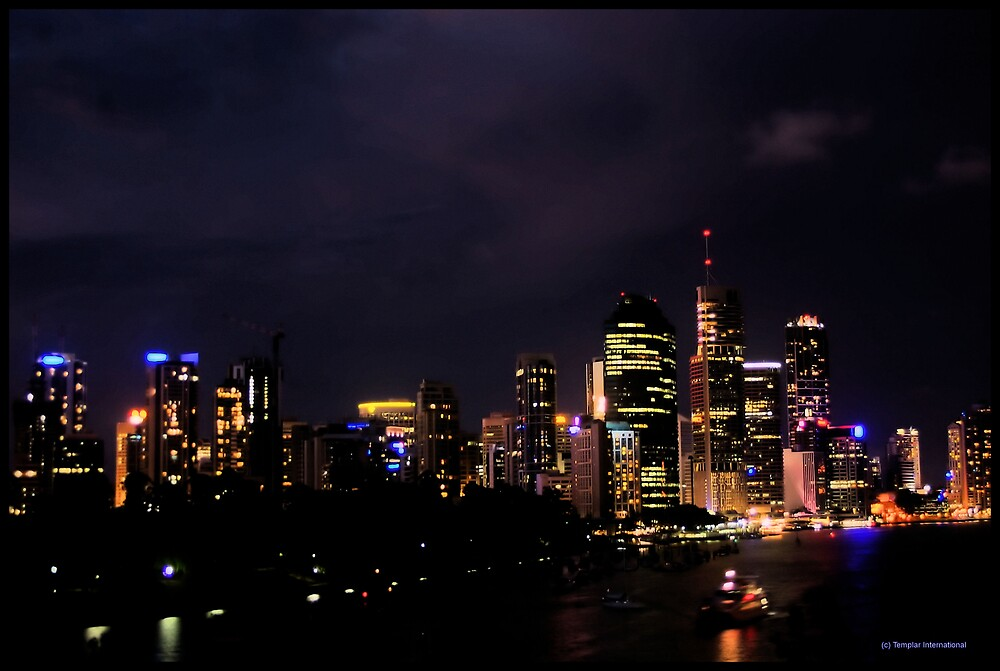 Reflection of Brisbane by Andrew Murray
