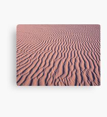 Ripple in the sand Canvas Print