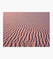 Ripple in the sand Photographic Print