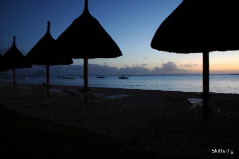 Paradise by nightfall by Skitterfly
