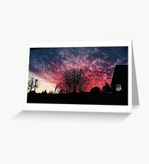 Red Sky at Night, Shepard's Delight Greeting Card