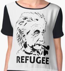 Einstein Refugee Chiffon Top