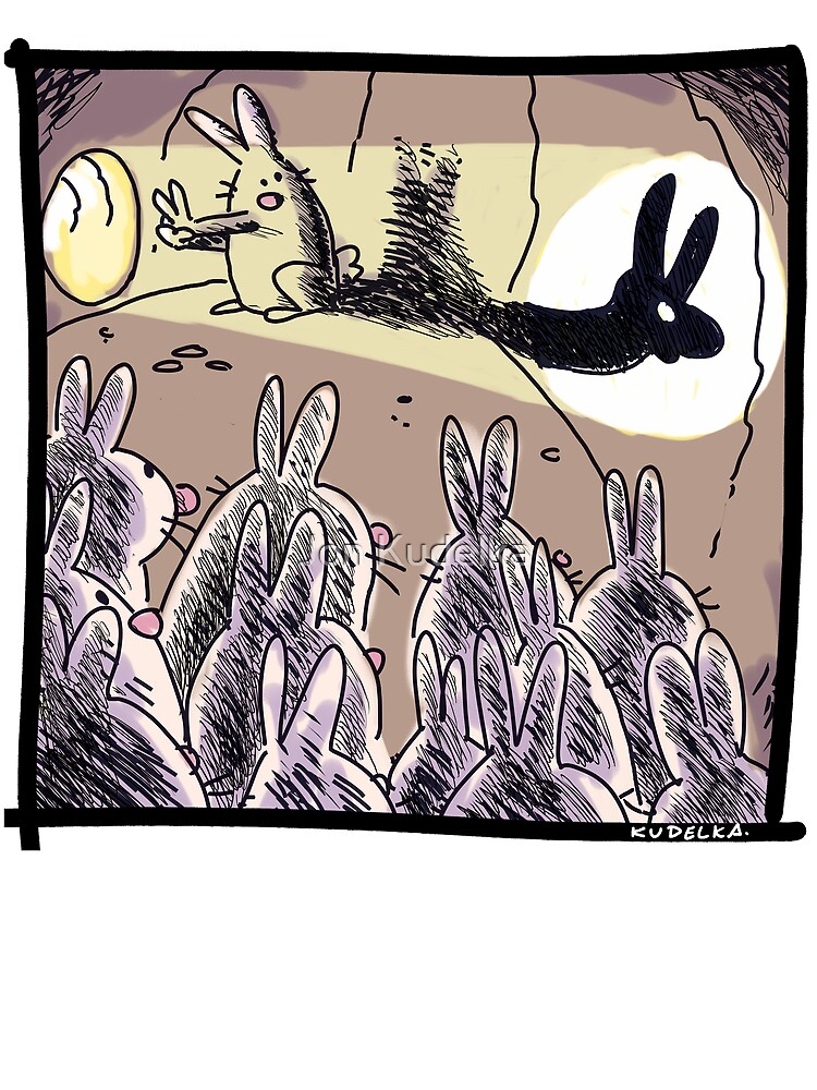 bunny show by kudelka