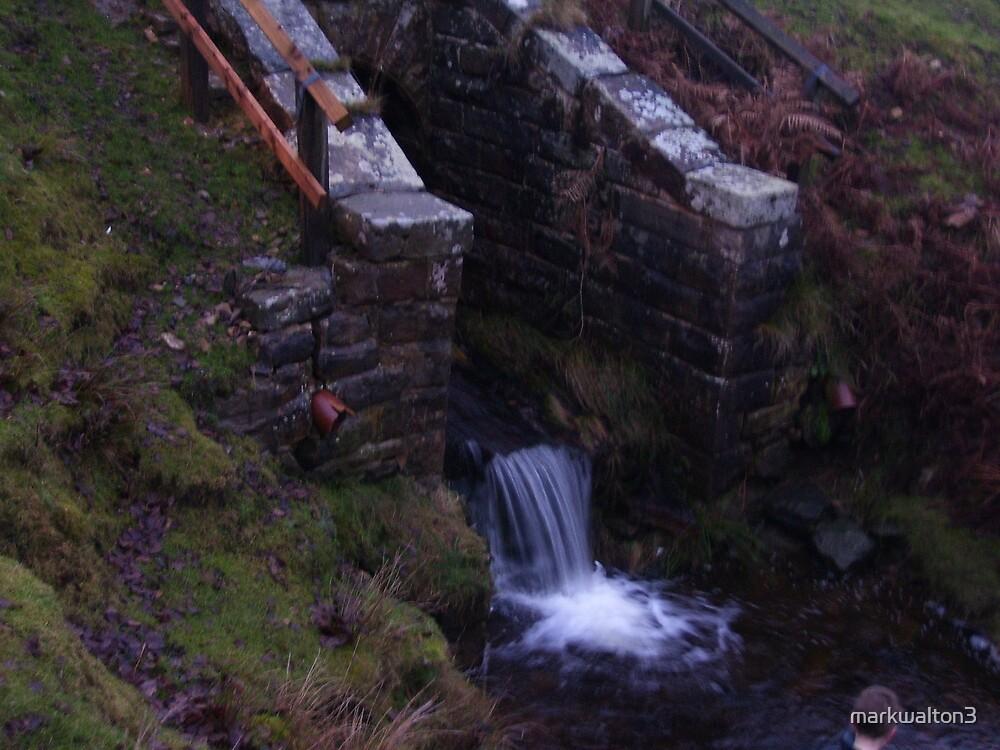 waterfall on the Moors by markwalton3