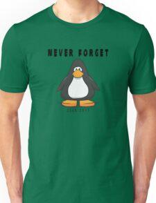 Club Penguin Never forget Unisex T-Shirt