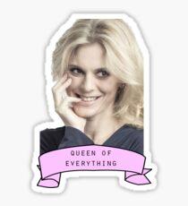 Emilia Fox - Queen  Sticker