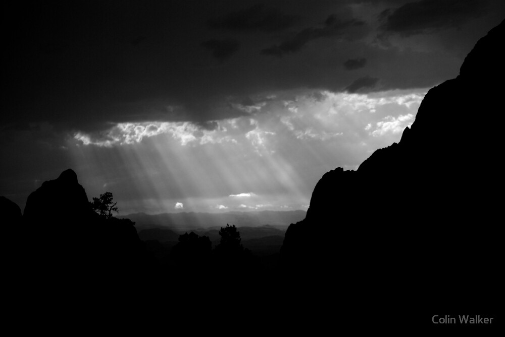 Chisos Basin 3 by Colin Walker