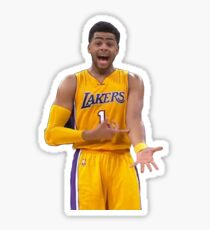 D'angelo Russell Ice In My Veins Sticker
