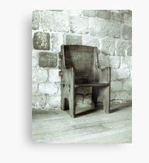 Chair Metal Print