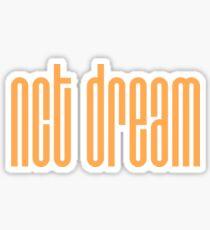 NCT DREAM Logo - Orange Sticker
