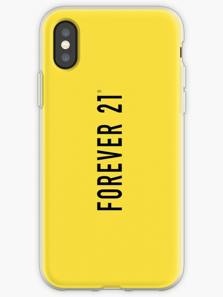 best authentic e88dd f91c6 'Forever 21 Logo Lover' iPhone Case by ohemgee1D