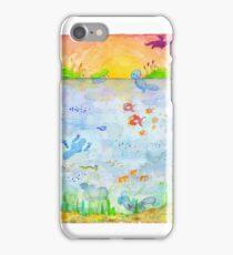 Pokemon - Sunset Lake iPhone Case/Skin