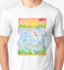 Pokemon - Sunset Lake Unisex T-Shirt