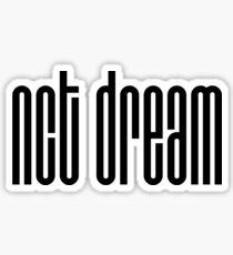 NCT DREAM Logo - Black Sticker
